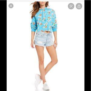 Levi's Raw Floaty Floral Sweatshirt/Hoodie